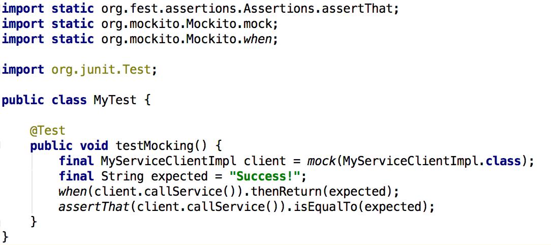 Using Mockito with Kotlin 1 0